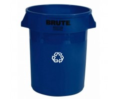 Rubbermaid Brute Round Recycle Container