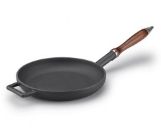 Agnelli Slowcook Frying Pan Wooden Handle